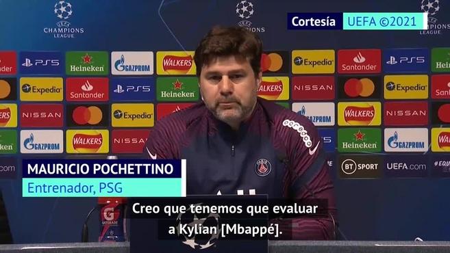 Pochettino: el PSG no ha decidido si Mbappé jugará contra el Manchester City o no