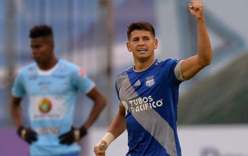 Emelec viajó a Colombia sin su goleador, Facundo Barceló, por lesión