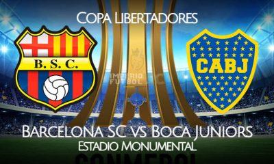 Barcelona SC vs Boca Juniors EN VIVO ESPN por la Copa Libertadores 2021