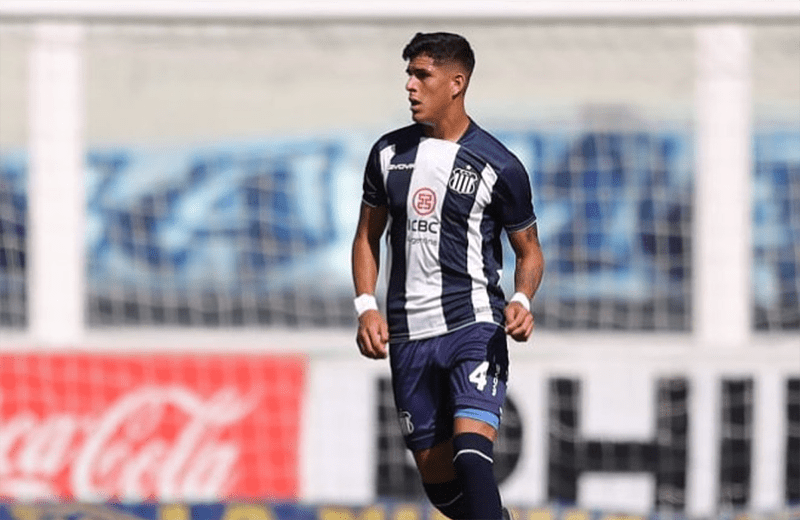 El ecuatoriano Piero Hincapié tuvo nuevamente otra gran jornada con Talleres