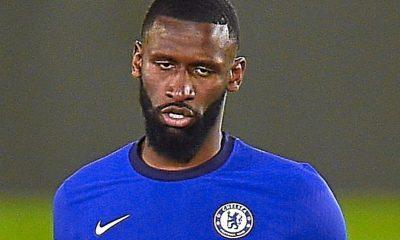 Toni Rudiger le da al Chelsea un gran impulso con el conjunto alemán para ponerse la máscara protectora para enfrentar al Real Madrid en la Liga de Campeones