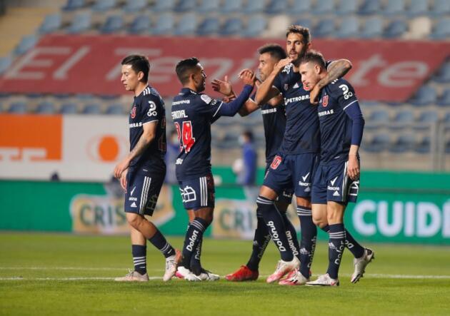 » Universidad de Chile derrotó a Wanderers en un discreto partido