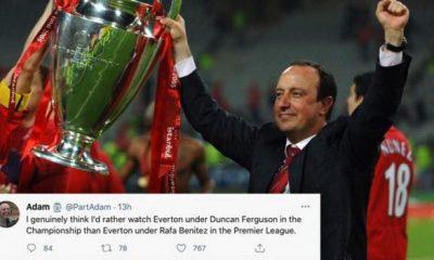 El favorito de Rafael Benítez para el trabajo del Everton: ¿Cómo han reaccionado los fanáticos en las redes sociales?