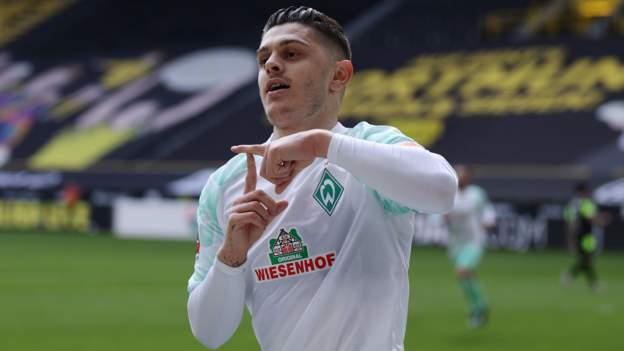 Milot Rashica: Norwich ficha al extremo de Kosovo procedente del Werder Bremen por cuatro años
