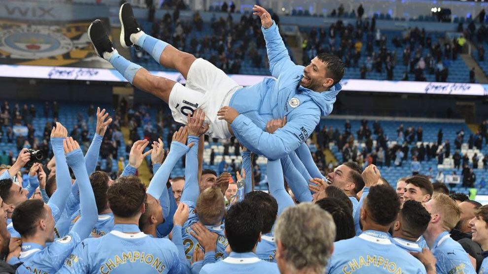 Manchester City vs Chelsea    Champions League: Agüero transformó al Manchester City