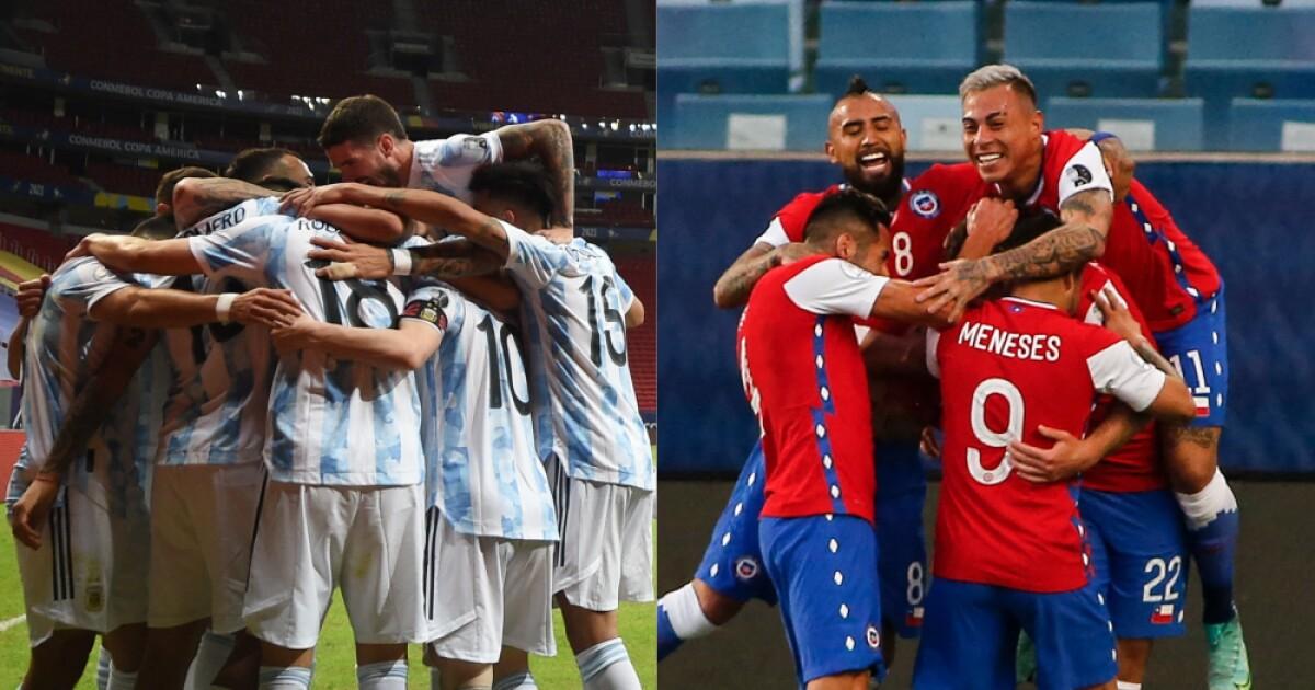 1624334759 seleccion argentina chile afp | Últimas Noticias Futbol Mundial