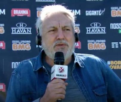 José Luis Moreira, exvicepresidente de fútbol del Vasco, cobra en la cancha la deuda del club de casi R $ 4 millones