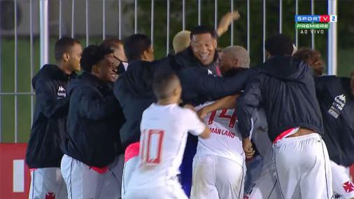 Con gol de Sarrafiore, Vasco venció a Boavista y abrió la delantera en la tercera fase de la Copa do Brasil