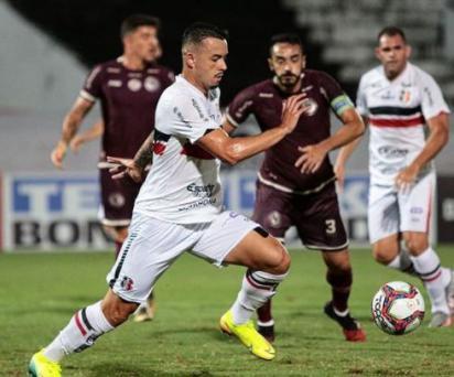 Serie C: Santa Cruz y Jacupiense empatan en Arruda