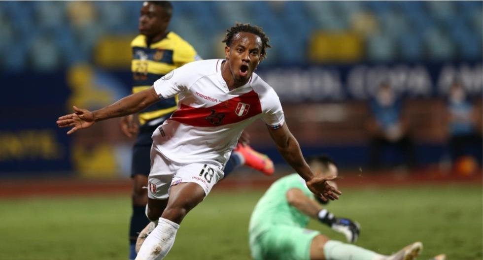 """André Carrillo tras clasificación ante Venezuela: """"Hemos logrado el primer objetivo"""""""