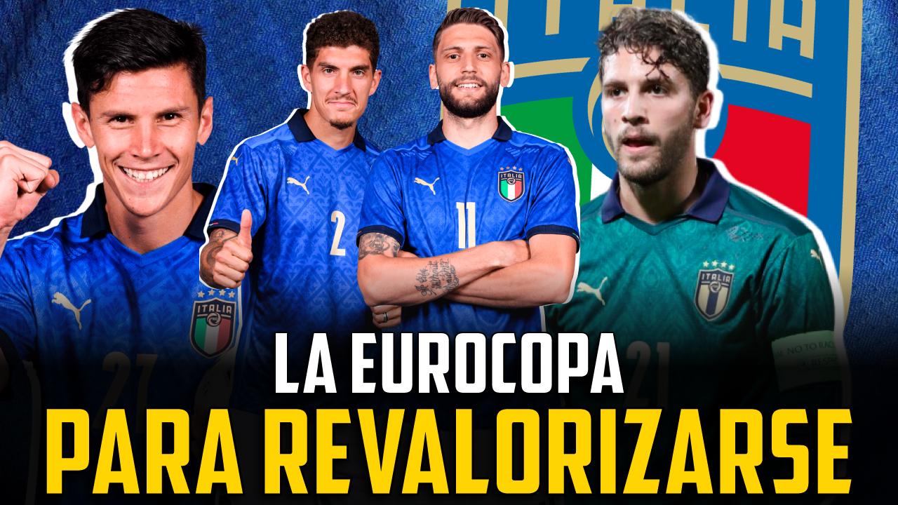 Vídeo I Los jugadores italianos que más brillan en la Eurocopa