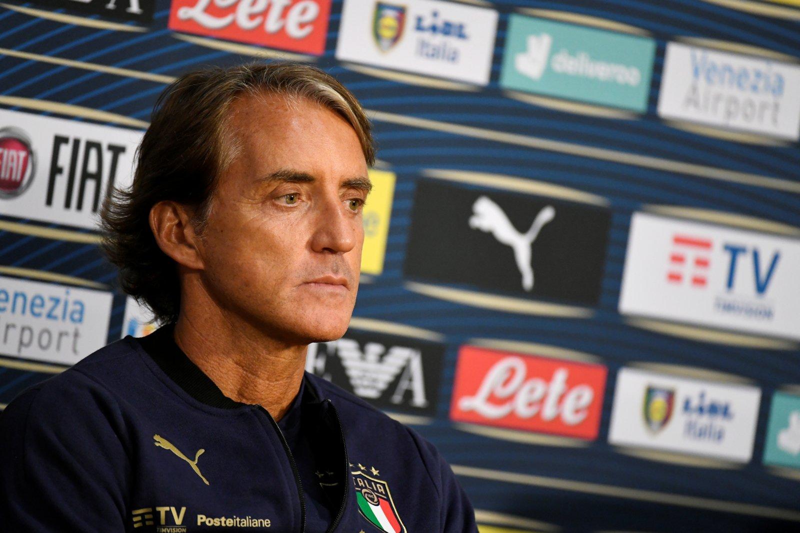 Mancini anuncia la convocatoria de Italia para la Eurocopa