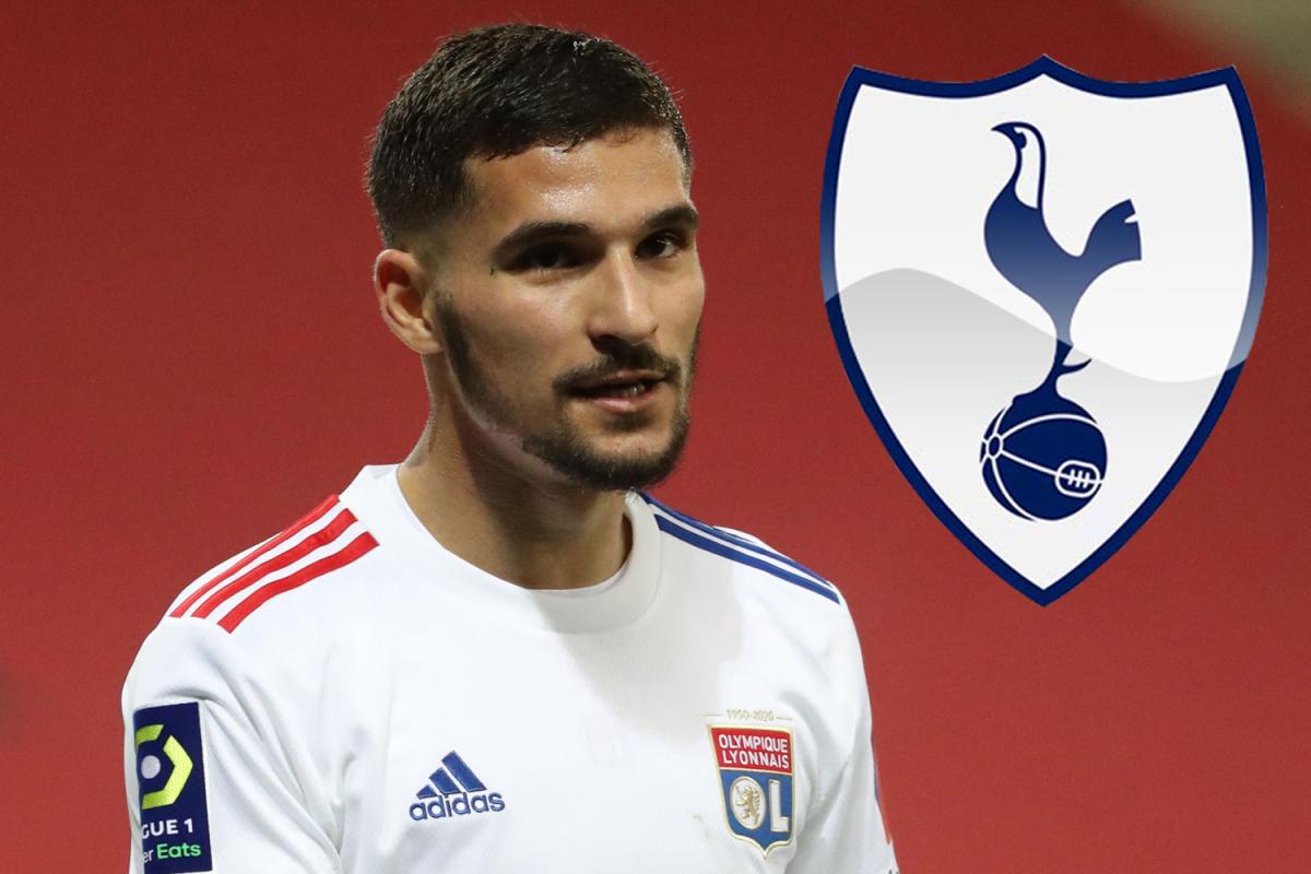 Arsenal se unirá al Tottenham en la batalla de fichajes de Houssem Aouar con ambos rivales interesados en el centrocampista del Lyon