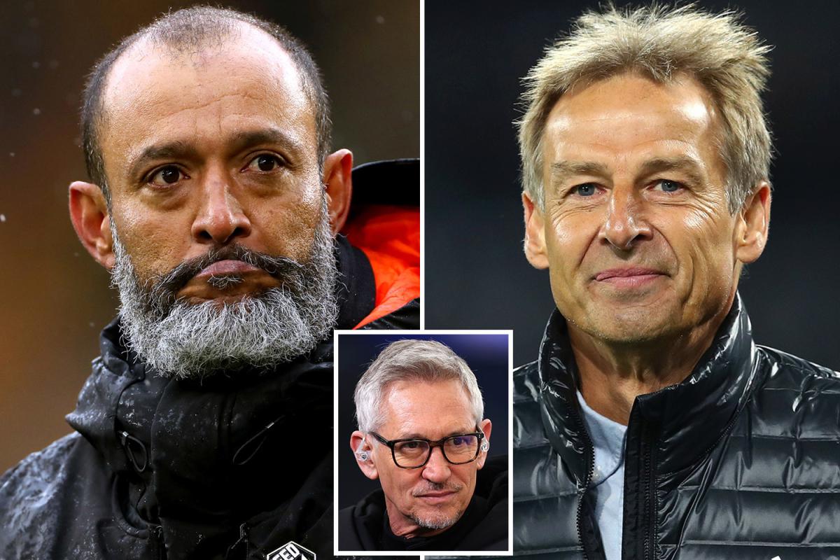 Gary Lineker afirma que el último jefe de Nuno Espirito Santo rechazó el trabajo del Tottenham y pide que se le dé un puesto a Klinsmann