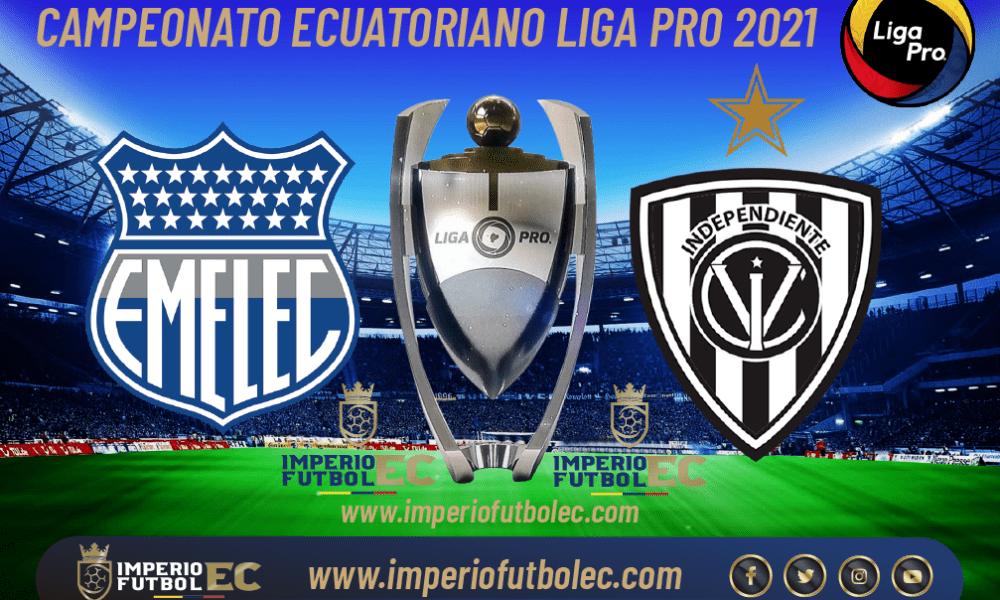 VER Emelec vs Independiente del Valle EN VIVO por la jornada 14 de la Liga Pro Ecuador