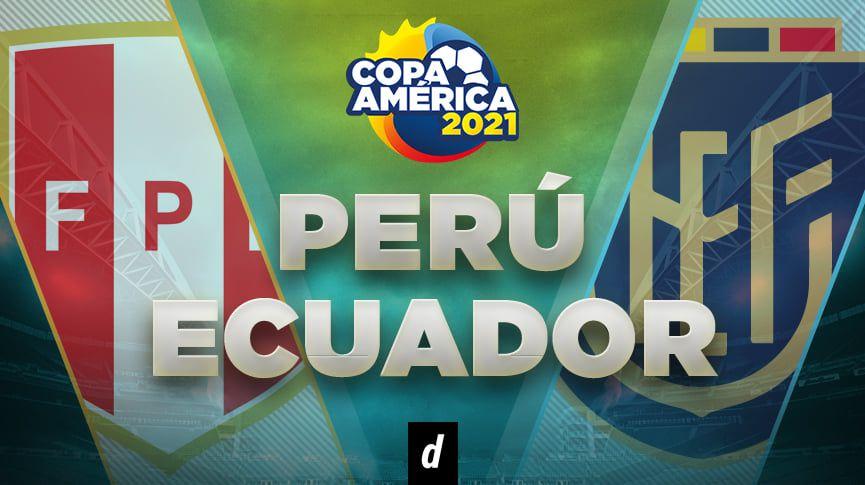 Por DIRECTV, Perú vs. Ecuador: fecha, horarios y canales para ver la Copa América 2021