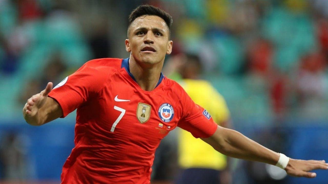 Alexis Sánchez reapareció en la práctica de la Selección Chilena - Regate.cl