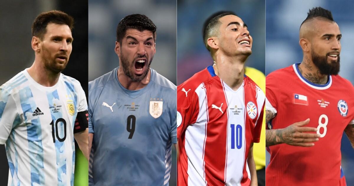 argentina uruguay paraguay chile afp   Últimas Noticias Futbol Mundial