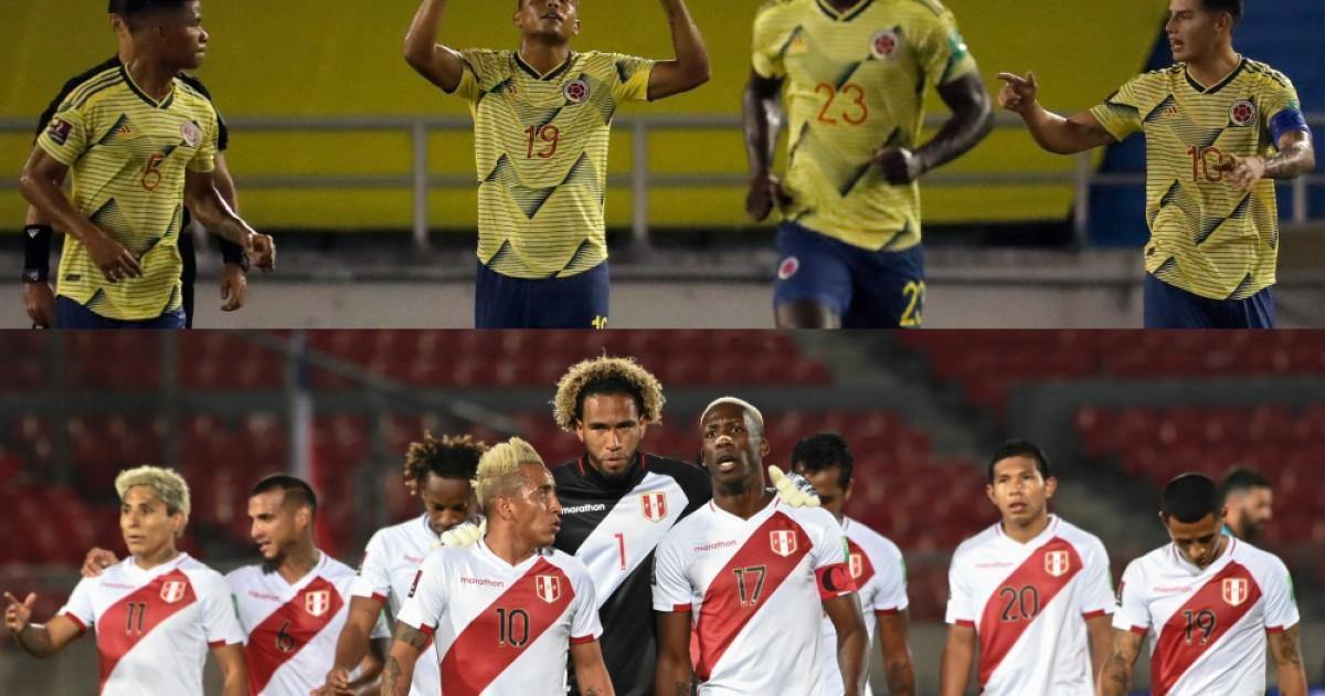 colombia peru afp | Últimas Noticias Futbol Mundial