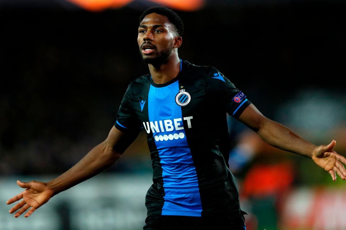 Los novatos de la Premier League, el Watford, acuerdan la tarifa por la transferencia del delantero del Club Brugge, Emmanuel Dennis