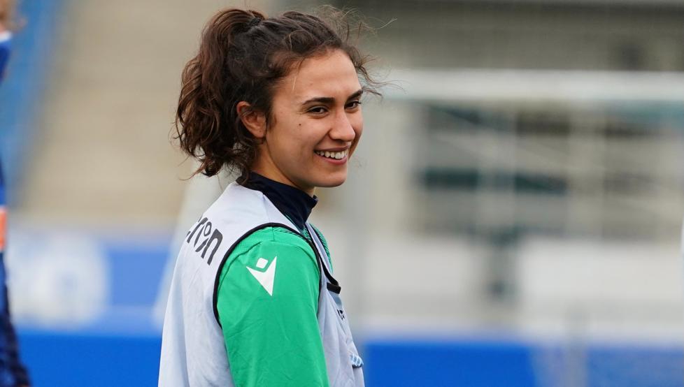 Nahikari García, jugadora de la Real Sociedad