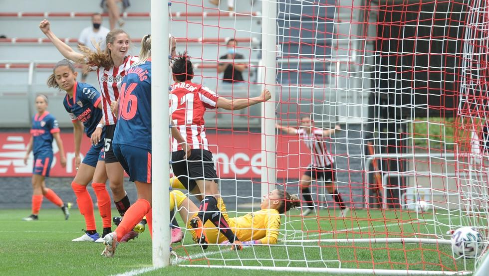 Oguiza marcó el primer gol del Athletic