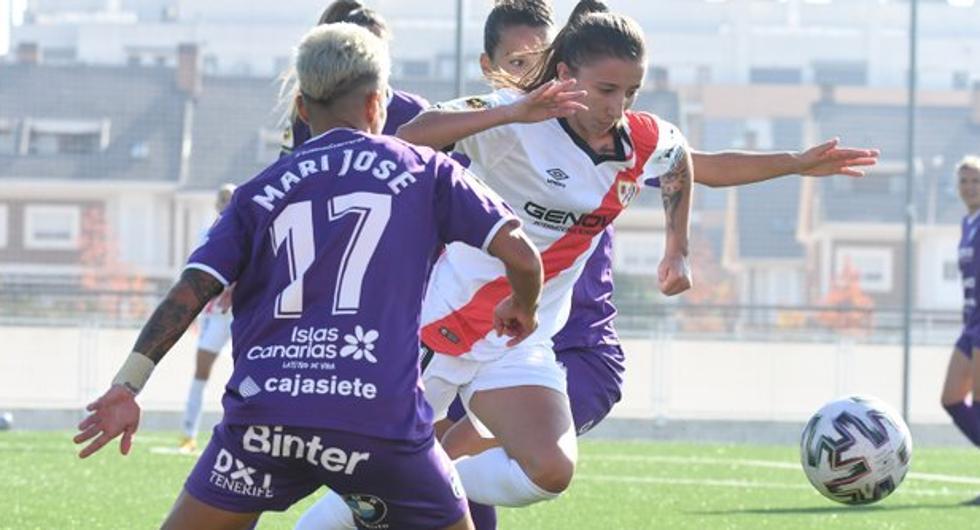 Sheila deja el Rayo Femenino y ficha por el Atlético de Madrid.