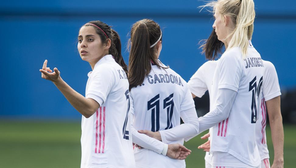 El Real Madrid golea al Santa Teresa