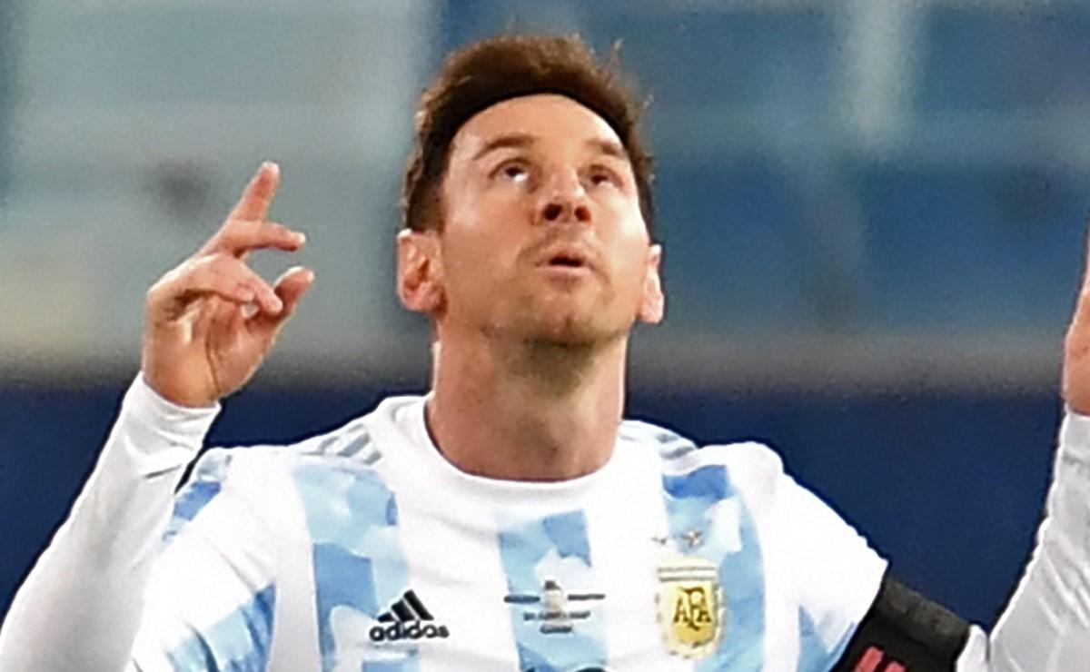 Copa América 2021: Lionel impone nueva marca con la Selección de Argentina