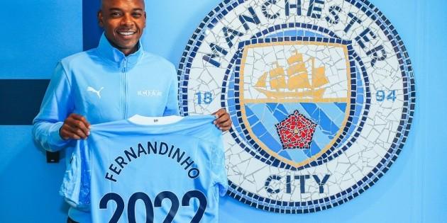 Manchester City: Fernandinho renueva con el club inglés hasta junio de 2022;  ver detalles |  mercado de bolas