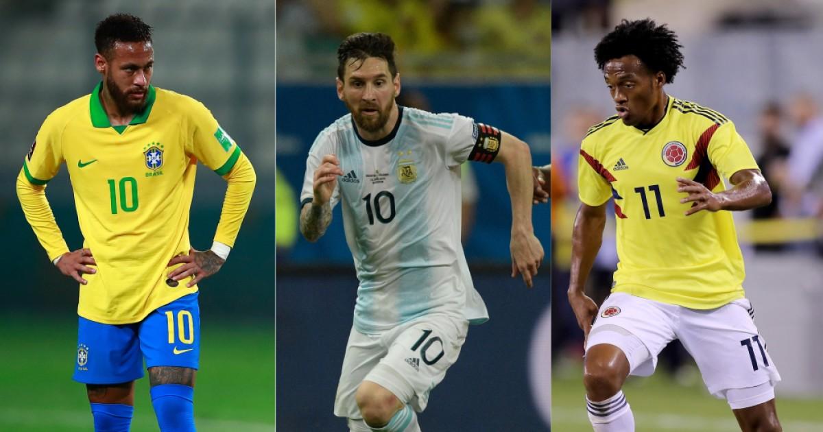 neymar messi cuadrado afp | Últimas Noticias Futbol Mundial