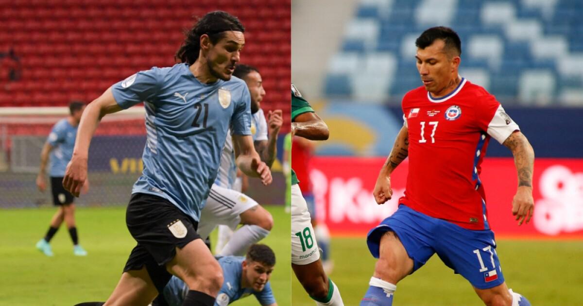uruguay chile afp   Últimas Noticias Futbol Mundial