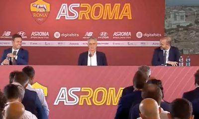 Serie A: La hilarante fuga de Mourinho de la Roma rueda de prensa de presentación: Entrenamos a las 16:00, adiós