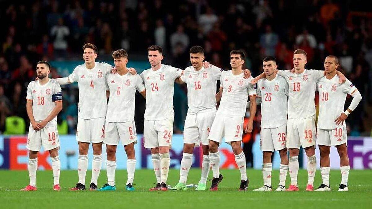 España    Euro 2021: España sale con optimismo de futuro