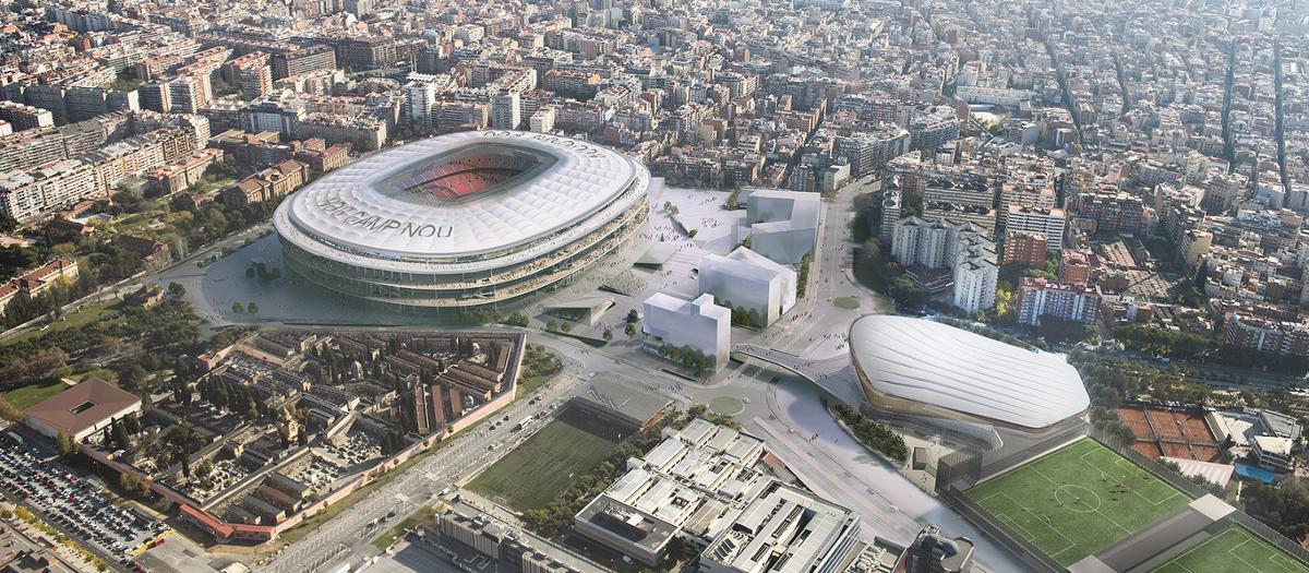 El Barcelona da luz verde a las reformas del Camp Nou