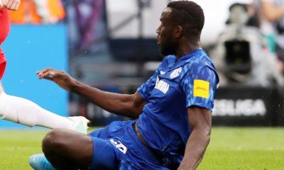 El Schalke teme por la carrera de Salif Sané tras una nueva lesión