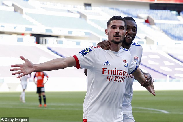 El Arsenal vuelve a sopesar el Houssem Aouar este verano después de fallar el año pasado