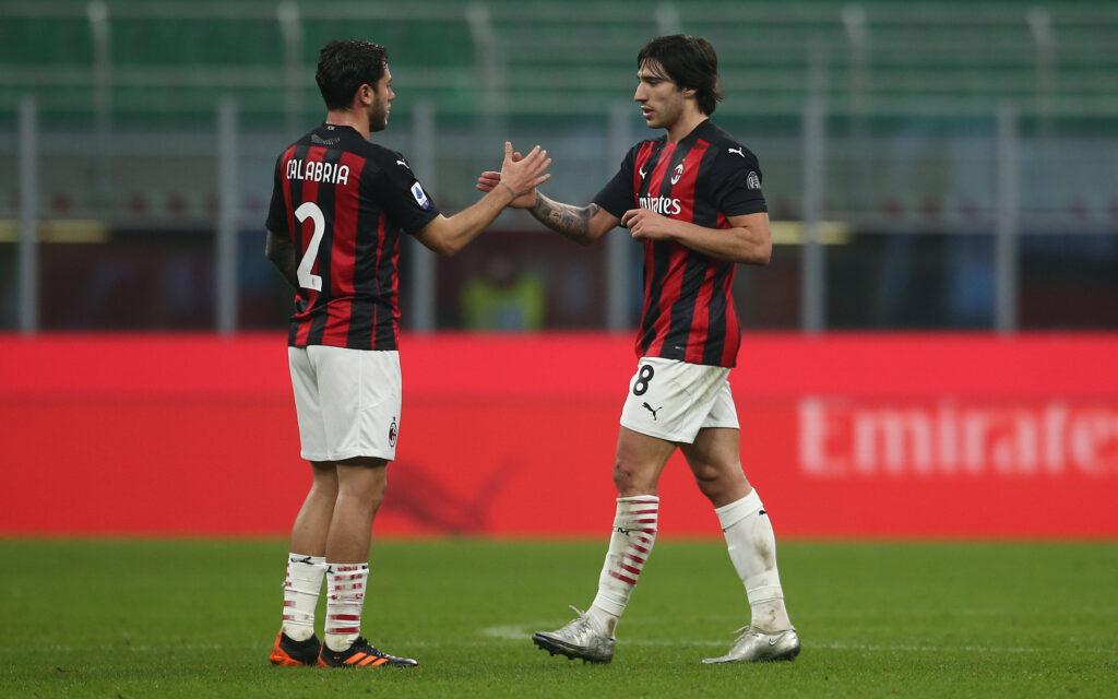 El Milán cierra la renovación de Calabria y el fichaje de Tonali