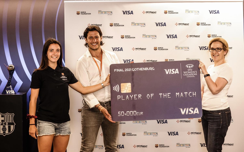 Aitana Bonmatí dona su premio como MVP de la final de Champions League a un proyecto para niños refugiados en Lesbos