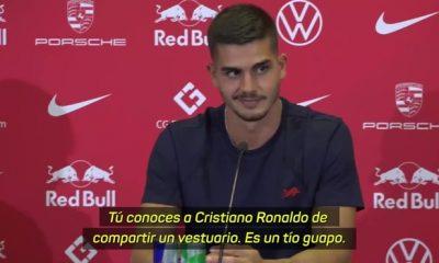 Bundesliga: Andre Silva hizo una extraña pregunta a Cristiano Ronaldo en la presentación del RB Leipzig