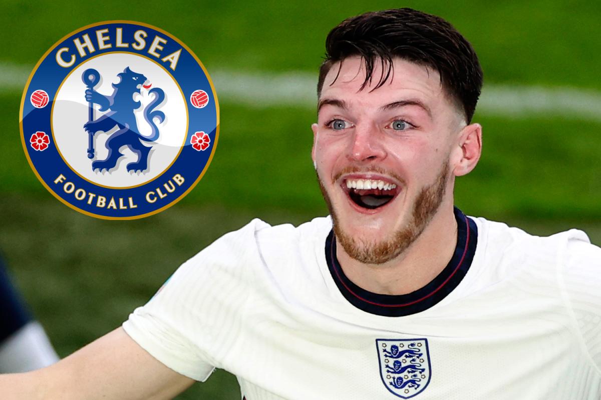 Chelsea 'considera una nueva oferta de transferencia de Declan Rice con West Ham listo para vender por £ 80 millones' después de los heroicos logros de la Eurocopa 2020 para Inglaterra