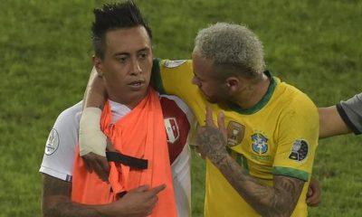 Christian Cueva confesó el mensaje que le dio Neymar tras el Perú vs. Brasil de la Copa América 2021 | VIDEO | NCZD | FUTBOL-PERUANO