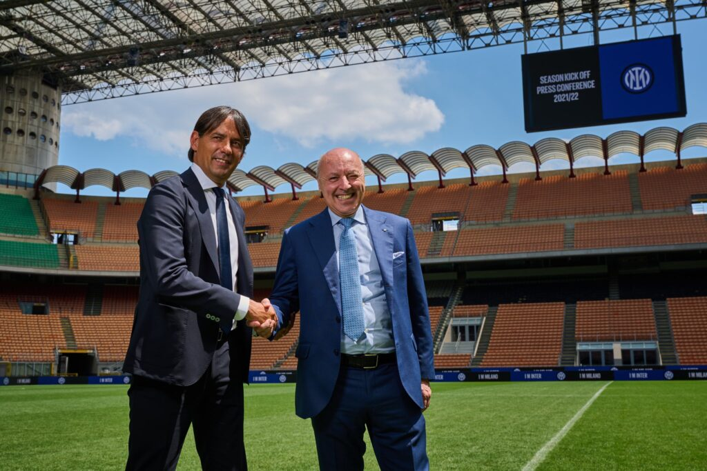Simone Inzaghi se presenta como entrenador del Inter