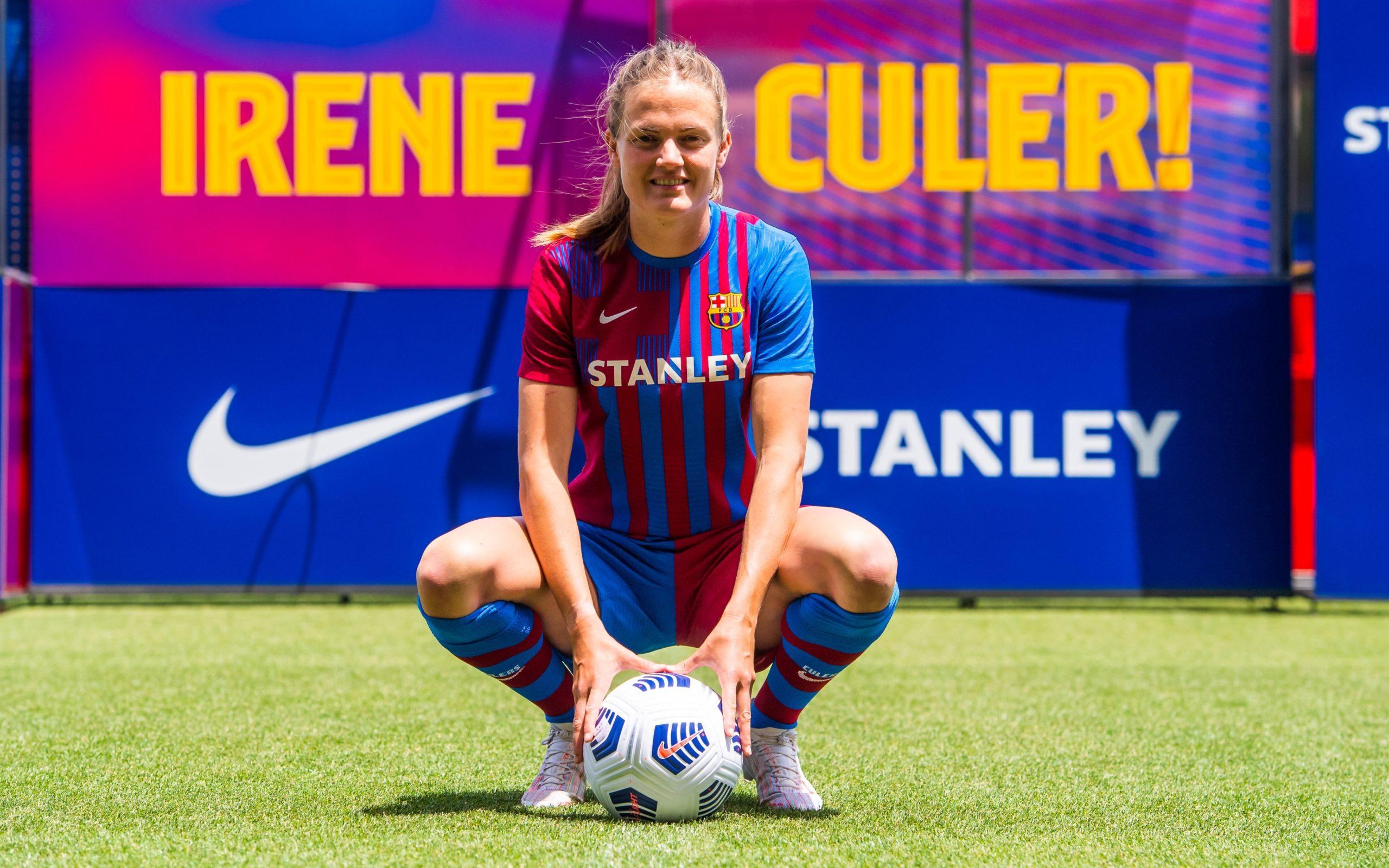 Irene Paredes regresa a España y se viste de blaugrana, tercera incorporación del FC Barcelona