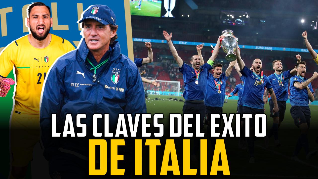 Vídeo I Las claves del éxito de Italia en la Eurocopa