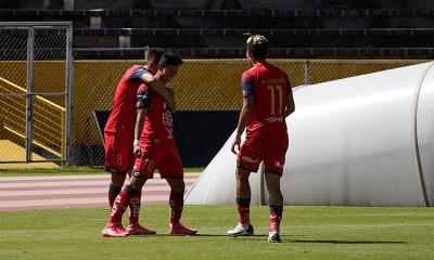 Insólito momento en el duelo entre El Nacional vs Cumbayá por la Serie B (VIDEO)