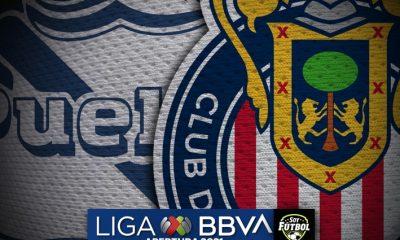 El gol de Alejandro Mayorga en el Puebla vs Chivas