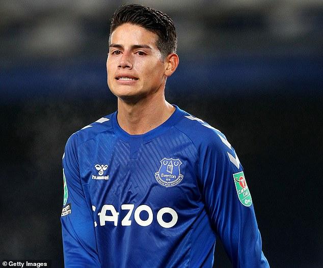 James Rodríguez afronta un futuro incierto en el Everton y podría marcharse este verano