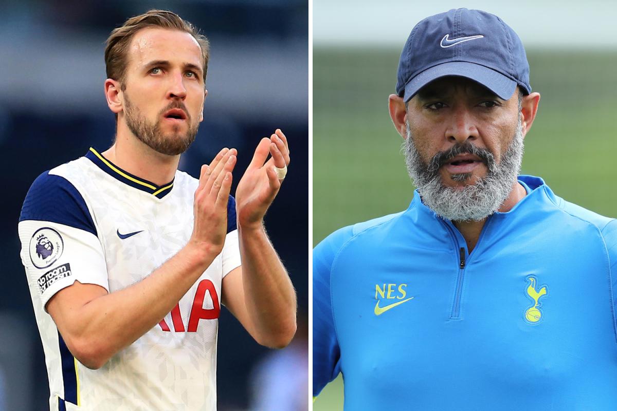 El técnico del Tottenham, Nuno Espirito Santo, dice que Harry Kane es 'nuestro jugador' y confirma conversaciones con el delantero cuando regrese