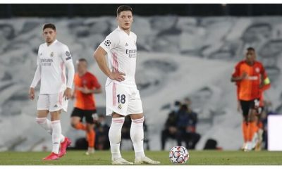 El trío de la Serie A persigue al paria del Real Madrid Luka Jovic